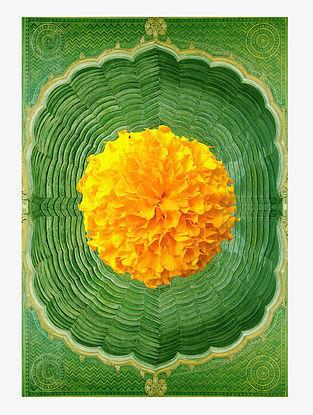 Marigold Art Print On Paper