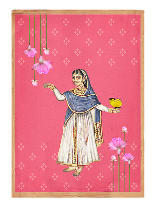 Anarkali Art Print on Paper