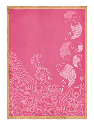 Water Down Art Print on Paper