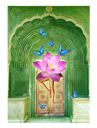 Rajasthan Diaries Art Print on Paper
