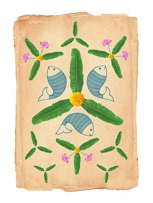 Kerala Diaries Art Print on Paper