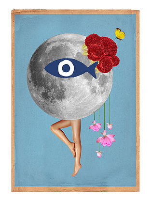 Frida Love Art Print on Paper