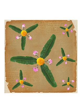 Windmil Lotus Art Print on Paper
