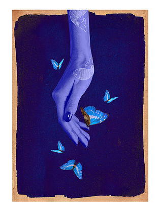 Holding on and Letting Go Art Print on Paper