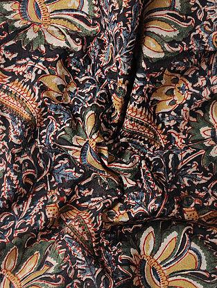 Multicolored Kalamkari Block Printed Cotton Fabric