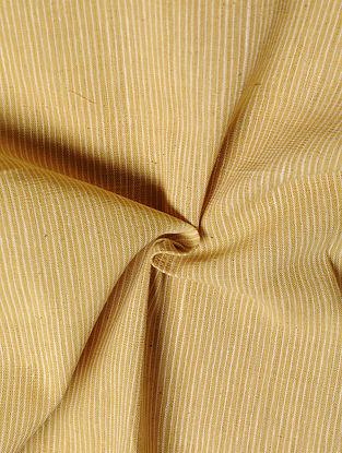 Mustard Handwoven Malkha Fabric