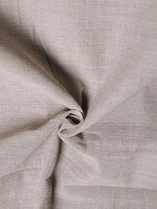 Grey Handwoven Malkha Fabric