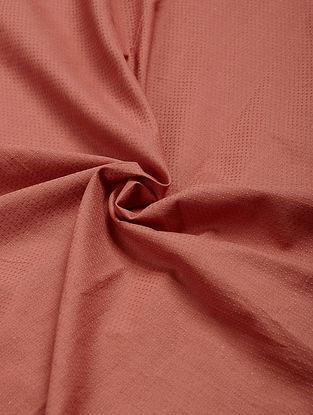 Rust Natural-dye Cotton Fabric