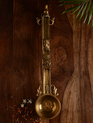 Brass Big Spoon (23.2in x 5in)