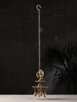 Brass Hanging Diya (25in x 4.2in)