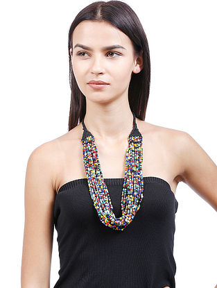 Multicolored Handcrafted Beaded Necklace