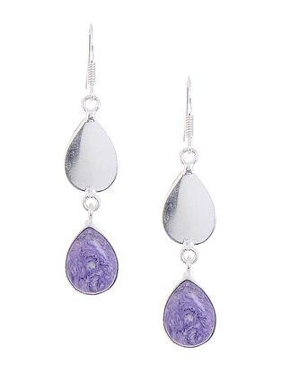 Classic Purple Earrings