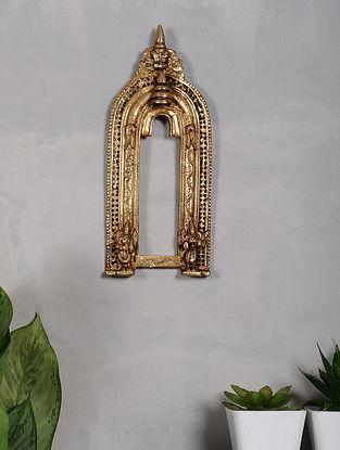 Brass Prabhavali (13in x 5.2in)