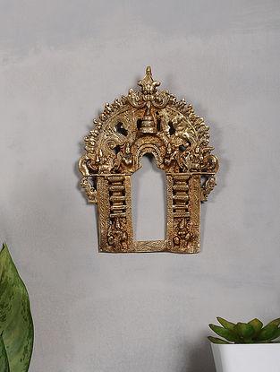 Brass Prabhavali (8.6in x 6.5in)