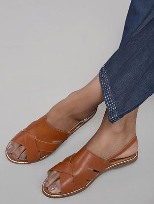Tan Handcrafted Sandals