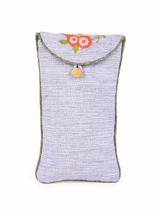 Multicolored Hand Embroidered Spectacle Case