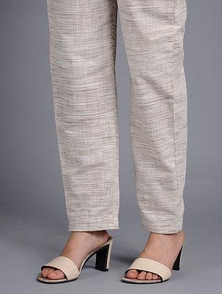 Natural Khadi Cotton Pants