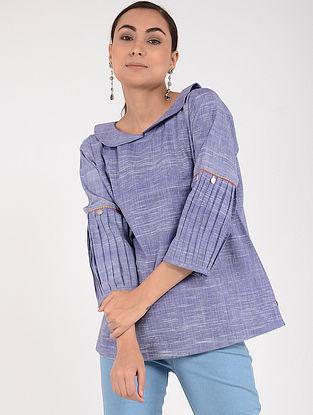 Violet Khadi Top