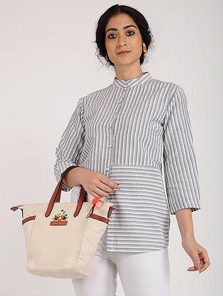 Grey Ivory Khadi Cotton Tunic