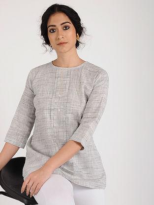 Ivory Khadi Cotton Tunic