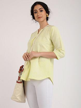 Yellow Khadi Cotton Tunic