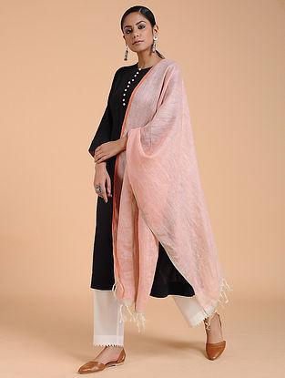 Pink Linen Stole