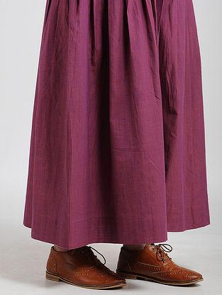 Purple Cotton Skirt