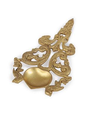 Brass Diya (L:15.5in, W:15.5in)
