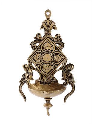 Brass Diya (L:5in, W:3.2in, H:8.5in)