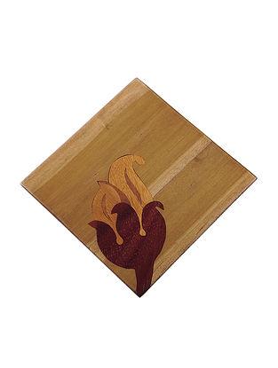 Wood Trivet (L:7.2in, W:7.2in)
