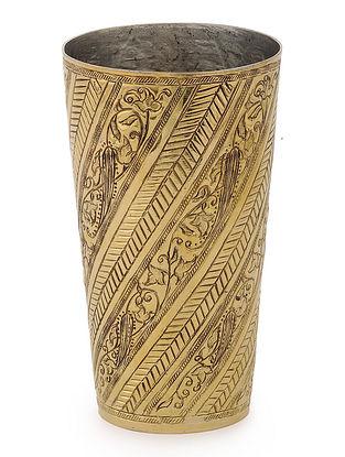 Nafees Brass Glass with Bel Design