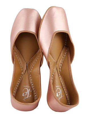 Rose Gold Handcrafted Juttis