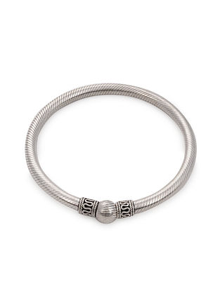 Tribal Silver Bangle (Bangle Size: 2/4)