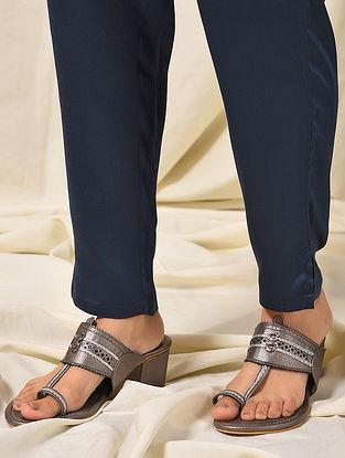 Blue Elasticated Waist Modal Pants