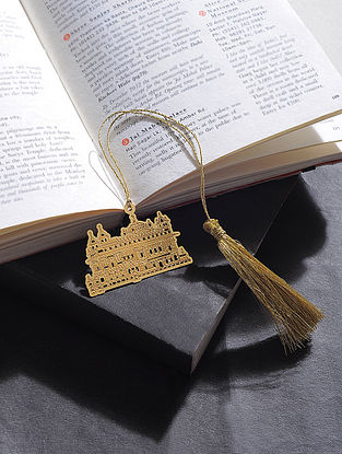 Golden Temple Gold Plated Brass Bookmark