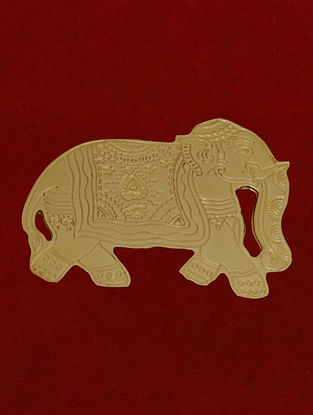 Brass Gold Plated Embossed