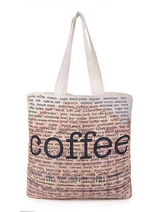 Coffee with Rajasthan Digitally-Printed Jhola