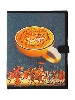 Coffee with Rajasthan Digitally-Printed A4 Size File Folder 13in x 10.2in