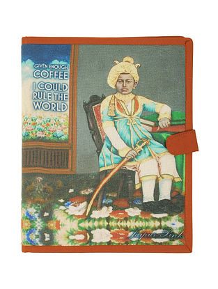 Coffee with Rajasthan Digitally-Printed A4 Size File Folder