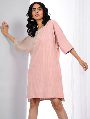 Pink Natural-dyed Handloom Cotton Dress
