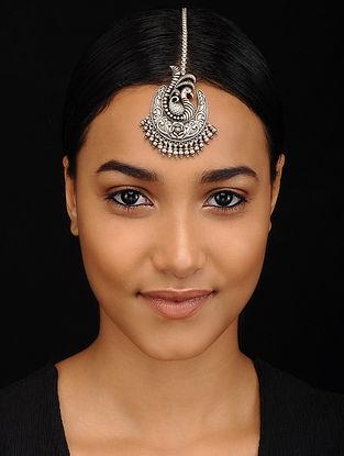 Tribal Silver Maang Tikka