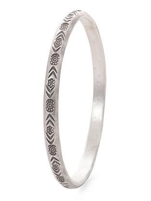 Tribal Silver Bangle (Bangle Size -2/4)