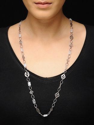 White Silver Necklace