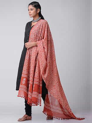 Black Cotton Slub Kurta with Pockets by Jaypore