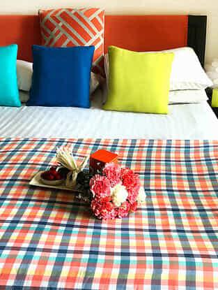 Mayuko Multicolored Cotton Single Dohars (Set of 2) (90in x 50in)