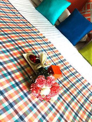 Mayuko Multicolored Cotton Single Dohar (90in x 50in)