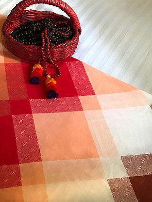 Miko Multicolored Cotton Double Dohar (108in x 90in)