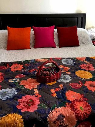 Rhodes Multicolor Cotton Quilt (90in x 110in)