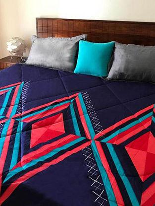 Rene Kaleidoscope Multicolor Cotton Quilt Set (Set of 4)
