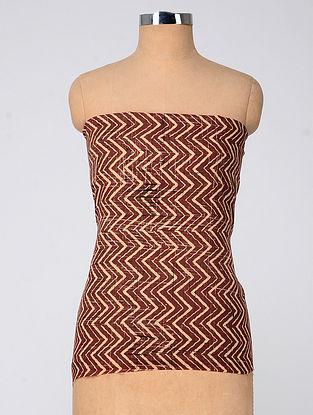 Blue-Ivory Ajrakh Cotton Fabric